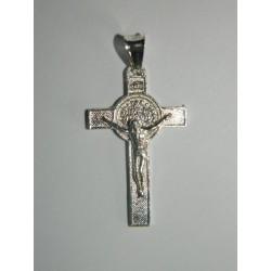 Cruz de San Benito con cristo