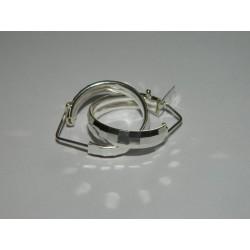 Arracadas disco 1.9 cm | 2.7 gr | circulares diam.