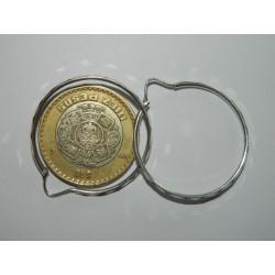 Arracadas circ. 3.2 cm | 1.9 gr facetadas