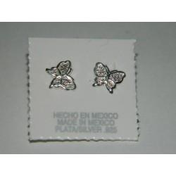 Broqueles de mariposa chico