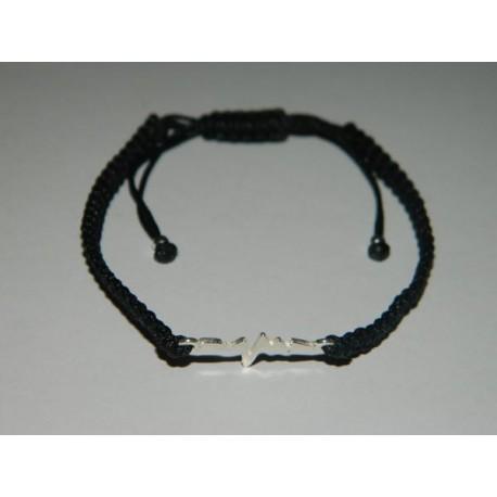 Pulsera elecktro negra