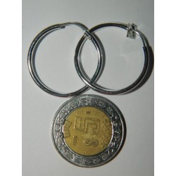 Arrac. circ. 2.6 cm | 2.4 gr lisos
