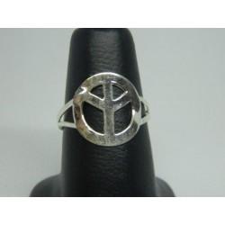 Anillo simbolo de amor y paz