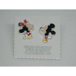 Minnie y Mickey Mouse tintados