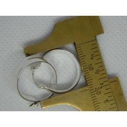 Arrac. circ. anchas de 1.8 cm | 2.6 gr. lisas