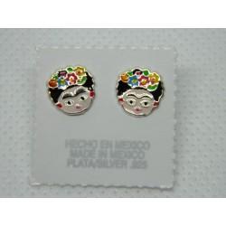 Broqueles de Frida tintados