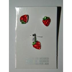 Fresas de fuego - Juego cristal mini