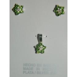 Juego estrellas de fuego verdes - Juego cristal mini