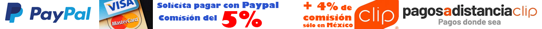 Paypal cobra el 5% de comisión extra, sólo para clientes en México